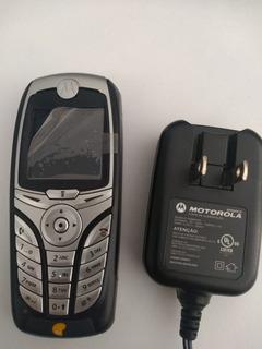 Celular Motorola C385 - Bateria E Carregador