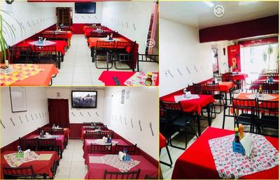 Traspaso Restaurante Ubicado Equipado Renta 8,900-negociable