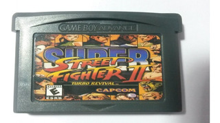Gba Super Street Fighter Ii Turbo Revival Repro