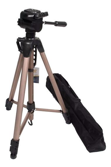 Tripe Weifeng Greika Wt 3770 1,66m Para Câmeras E Filmadoras