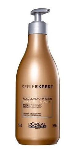 Loréal Expert Absolut Repair Shampoo Gold Quinoa 500ml