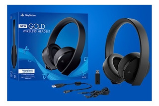 °° New Gold Wireless Headset For Ps4 °° En Tico Electrox °°