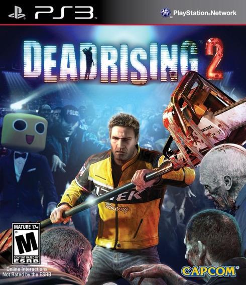 Jogo Dead Rising 2 Playstation 3 Ps3 Game Mídia Física