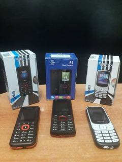 Telefono Celular Funciones Basicas Doble Sim 20vrds