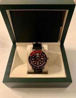 Reloj Stone Con Malla De Cuero