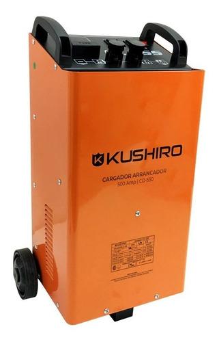 Imagen 1 de 6 de Cargador Arrancador 500a Kushiro 12v 24v Cd-530