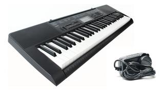 Organo Teclado Casio Ctk2300 61 Teclas Piano Usb + Fuente