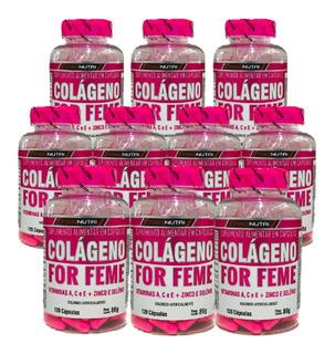 10x Colágeno Hidrolisado C/ Betacaroteno + Vitamina C