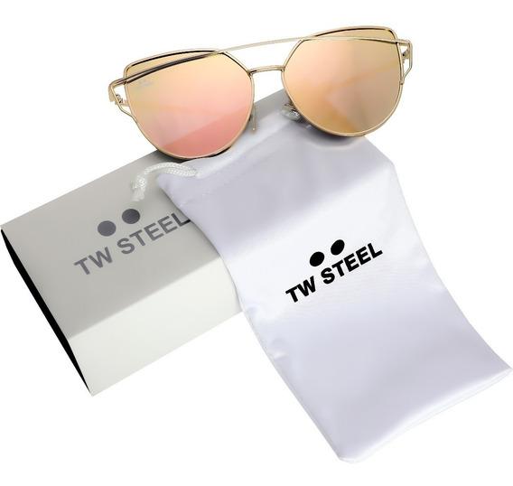 Tw Steel Lentes De Sol Canteen Fashion Micas Diego Vez