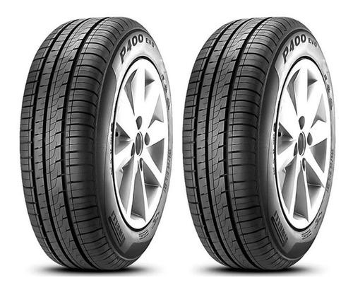 Imagen 1 de 5 de Kit X 2 Pirelli 185/60 R14 82h P400 Evo Neumabiz