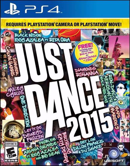 Just Dance 2015 (mídia Física) Ps4 (novo)