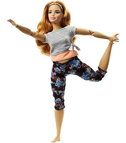 Imagen 1 de 6 de Barbie Hecha Para Mover La Muñeca