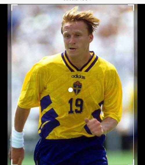 Camiseta Suecia Mundial 94 Original 100%100