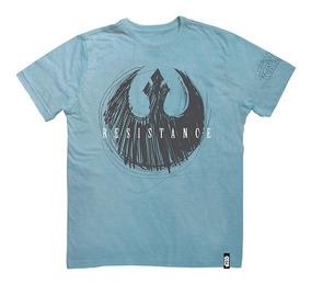 Camisa Manga Curta - Disney - Star Wars - Viii - Resistence
