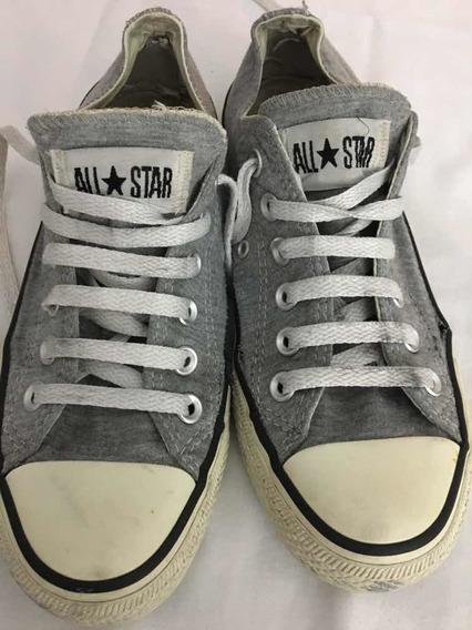 Zapatillas Converse All Star Grises Unisex. Nro 37.5 Divinas