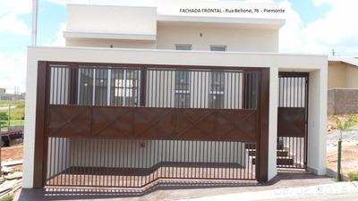 Casa Térrea Nova 3 Dorm 1 Suíte Bairro Planejado