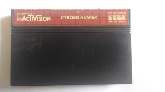 Jogo Master System Cyborg Hunter Jogo Importado Japão