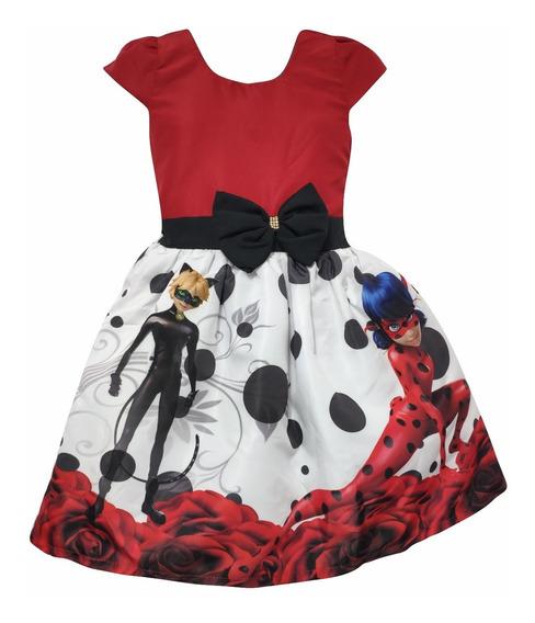 Vestido Miraculous Ladybug + Tiara