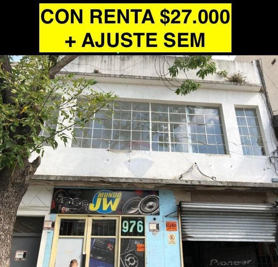 Con Renta $27.000 Joaquin V Gozalez Al 900