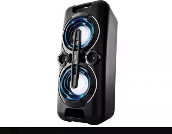 Caixa Som Philco Pht5000 150w Mp3 Usb Bateria Bivolt