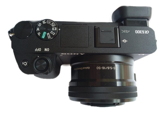 Camera Sony A6300 Semi Novo 1760 Cliques
