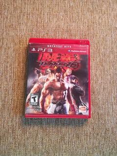 Tekken 6 Ps3 Original En Buen Estado. Envio Gratis .
