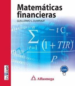 Libro Matemáticas Financieras Dumrauf Alfaomega