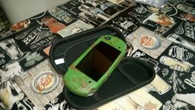 Playstation Sony Psp 3001 Desbloqueado Completo Com Estojo