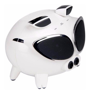 Bocina Bluetooth Super Pig Touch Mp3 iPhone Androi Usb Q7-bt
