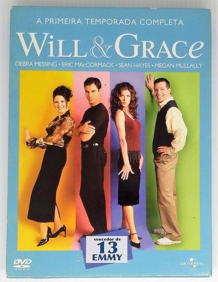 Box Dvd Will & Grace - Primeira Temporada - Seminovo
