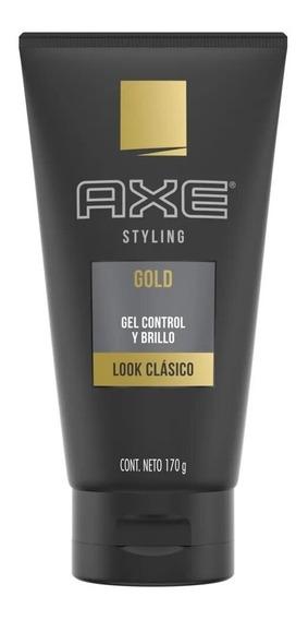 Axe Gold Gel Control Y Brillo Look Clasico X 170 Grs