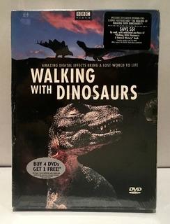 Dinosaurios Caminado Con Ellos 4 Dvd Originales Nuevos