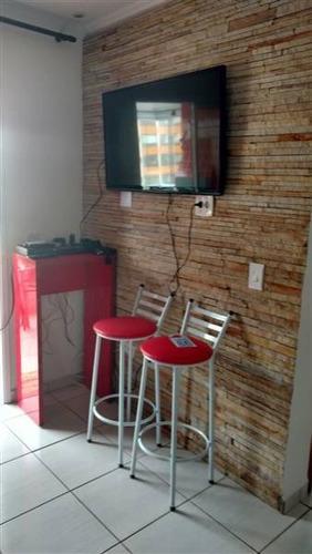 Apartamento, 2 Dorms Com 75 M² - Ocian - Praia Grande - Ref.: Pr1349 - Pr1349