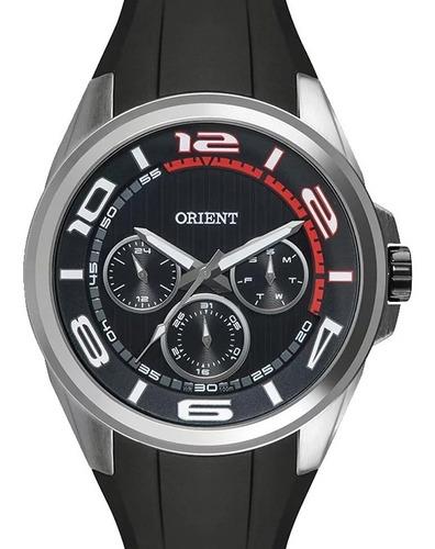 Relógio Orient Masculino Esportivo Com Pulseira De Silicone