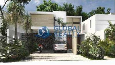 Casa En Venta, Privada En Zona Cholul - Conkal. Cv-5261