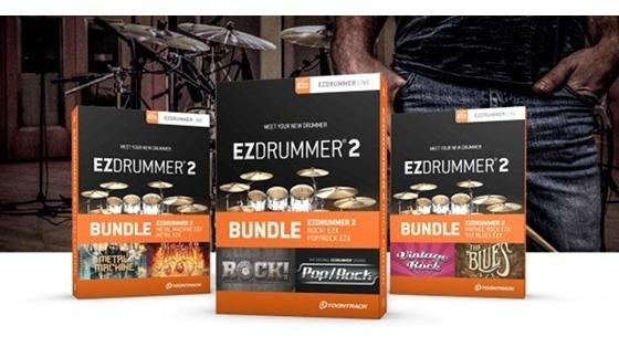 Ezdrummer 2 Dual Mac Os + Windows + 27 Librerias En 12 Dvds