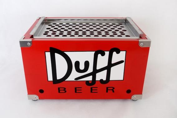Churrasqueira Catfer Duff Beer C/ Tanque De Inox