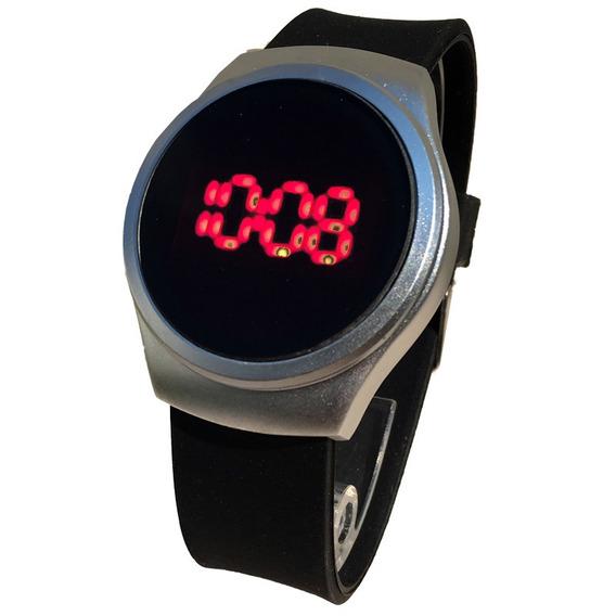 Reloj Led Touch Tactil Silicon Aluminio Moda Hombre Mujer