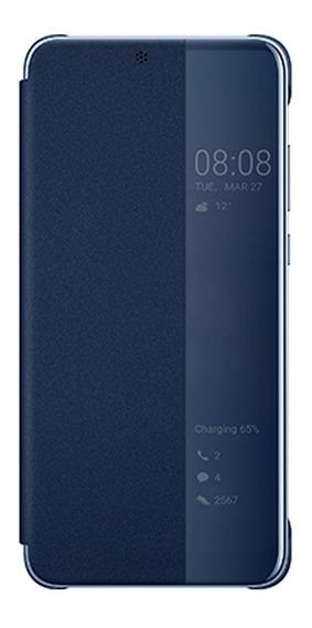 Estuche Forro Original Huawei P20 Smart View Cover Azul