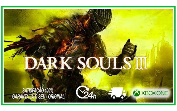 Dark Souls 3 Jogo Xbox One Midia Digital Original Souls Iii