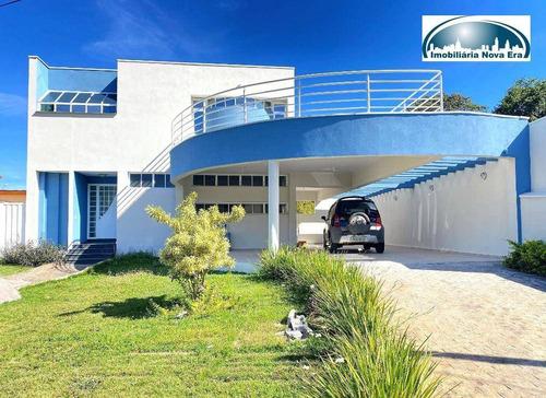 Imagem 1 de 1 de Casa Com 3 Dormitórios À Venda, 380 M² Por R$ 1.980.000,00 - Condomínio Marambaia - Vinhedo/sp - Ca1971