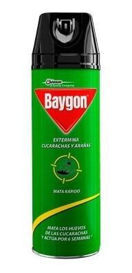 Insecticida Baygon Verde Aero 350 Cc Insectos Rastreros