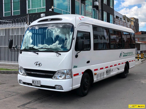 Autobuses Microbuses Hyundai Contry 19psj 4000cc Tdi Aa Dh