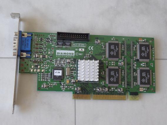 Placa Video Agp 3.3v Diamond Fire Gl1000 Pro Permedia2