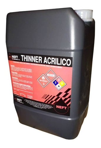 Thinner Acrilico Neft Cuñete Superformica