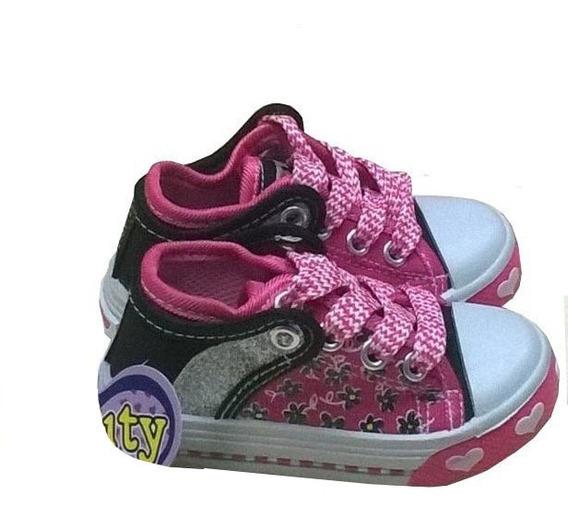 Zapatos Deportivos Kiuty Fucsia Negro Tipo Convers S10