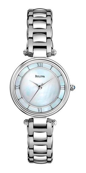 Relógio Bulova Feminino Wb27725q Madrepérola