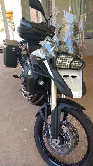 Bmw F800 Gs Adventure Com Baus De Aluminio (moto Impecavel)