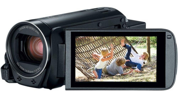 Filmadora Canon Vixia Hf R800 Entr Mic +64gb+bolsa+tripé S/j