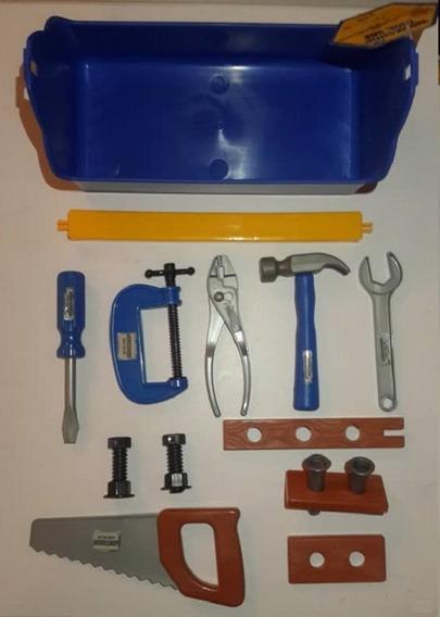 Caja De Herramientas De Juguete Para Niños Constructor 15 Pz